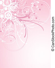 Floral decoration - Decorative floral background