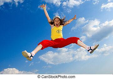 jump - In a jump