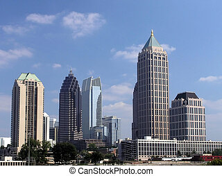 Midtown Atlanta Skyline - Midtown Atlanta Georgia Skyline...