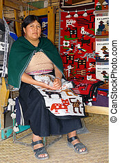 latin woman - the latin woman in national clothes ecuador...