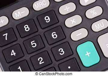 Calculator Keypad - A close up shot on calculator keypad