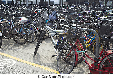 Bicycle Parking Place