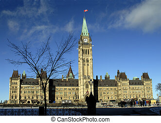 Canadas Parliament - Canadian Parliament Buildings, In...