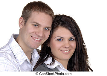 Young Couple - Attractive Young Couple