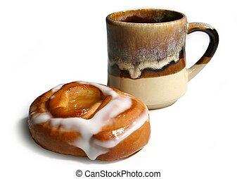 brioche, café