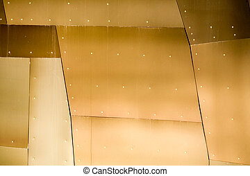 The Anatomy of Metal - Abstract view of a metal building...