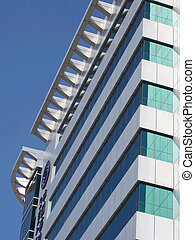 office building - The office building in the city of south...