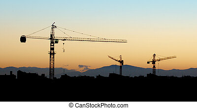 Under Construction - Building under construction -...