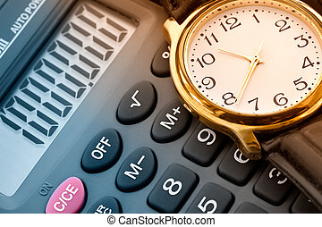 Watch and calculator-planning and calculation of profit