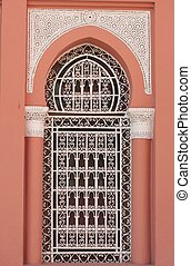 Arabic window - Arabic architecture detail