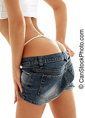 voluptuous back - classical image of voluptuous female...
