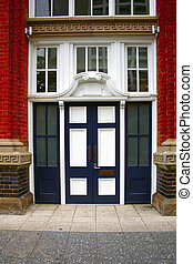 porta, storico, vecchio
