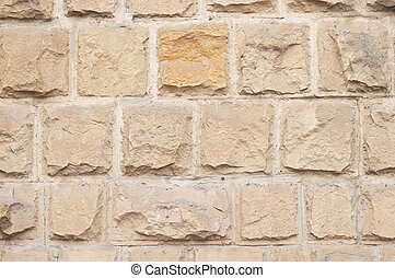 limestone bricks texture - warm colored limestone rough...