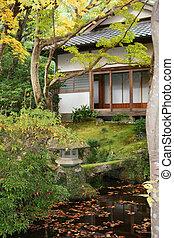 Japanese house fall