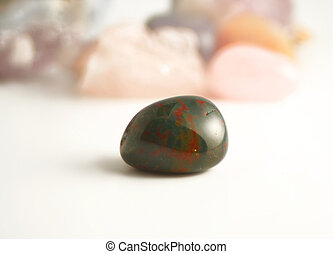 bloodstone (silicon dioxide) the crystal of detoxifying and...