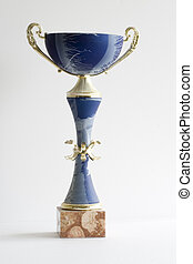trophy - Isolated on a white background