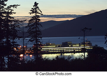 Northwestern ferry - Ferry service from Washington state to...