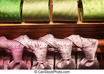 Formal fashion - business choice - Rows of colorful...