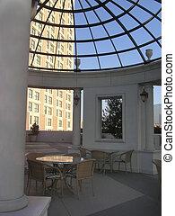 Atrium view of Luxury hotel 2
