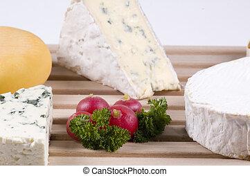 乳酪, 裝飾