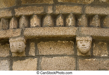 Romanesque Church Detail