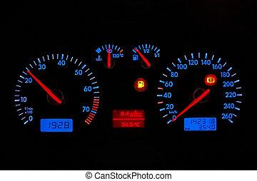 car, Painel