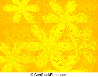 petal yellow - An abstract yellow background with the use of...