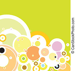 summer bubble - A hazzy summer background with the sue of...
