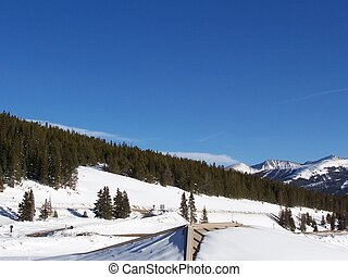Colorado Vail Pass - Stock Photo of Colorado Vail Pass...