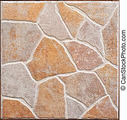 square brown decorative ceramic slab texture