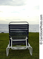 By the beach - A relaxing chair free