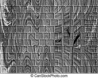 Gray Abstract Bricks - Modern abstract fine abstract bricks.