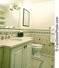 custom bathroom with tile work - custom bathroom tile work...