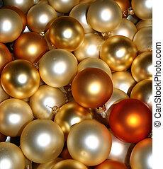 golden baubles - gold baubles for christmas tree