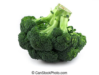appetizing broccoli - upside down