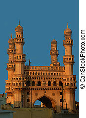 Charminar Side View - Side view of the famous charminar...