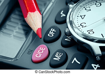 Calculation of profit - Watch and calculator-planning and...