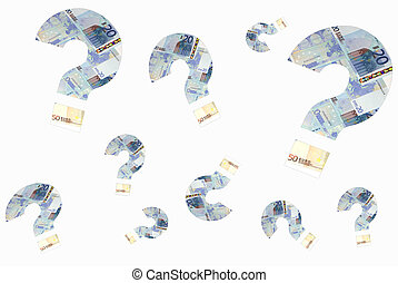 money, business - money question mark for bussines,...