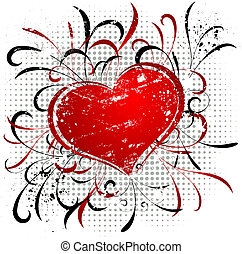 Valentines grunge - Grunge Valentines design