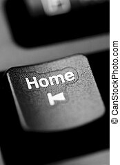 home - black, business, computer, control, ctrl, del, delit,...