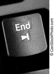 end - black, business, computer, control, ctrl, del, delit,...