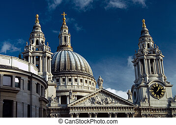 St Pauls Cathedral - St PaulS Cathedral, London, UK...