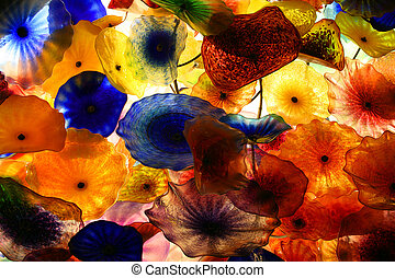 colorful background - Abstract colorful background in a...