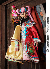 dolls from a puppet theater - Dolls from a puppet theater...