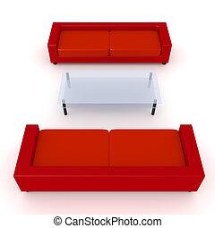 Red Livingroom 3