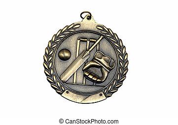 Sports Medal Closeup - Closeup shot of a sports medal...