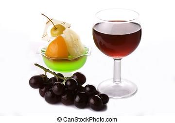 甜食, 紅色, 葡萄, 酒