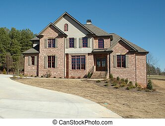 New Home Building - Photographed new home for sale in...