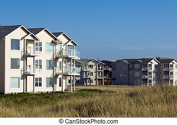 Summer vacation hous - Luxury oceanfront condo at Oregon...
