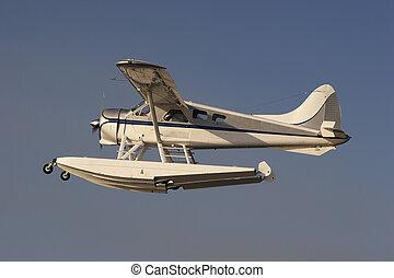 Seaplane - A Beaver Seaplane in the air